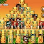 Пасьянс Пирамида ацтеков